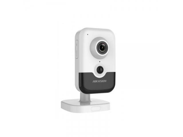 Hikvision DS-2CD2443G0-IW (4 мм) (Акция) IP кубическая видеокамера 4МП, WI-FI